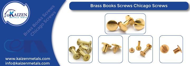 Brass Books Screws Chicago Screws